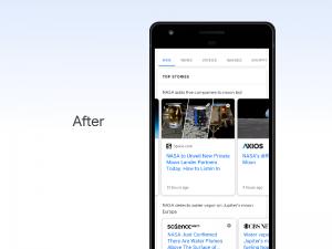 гугл меняет выдачу