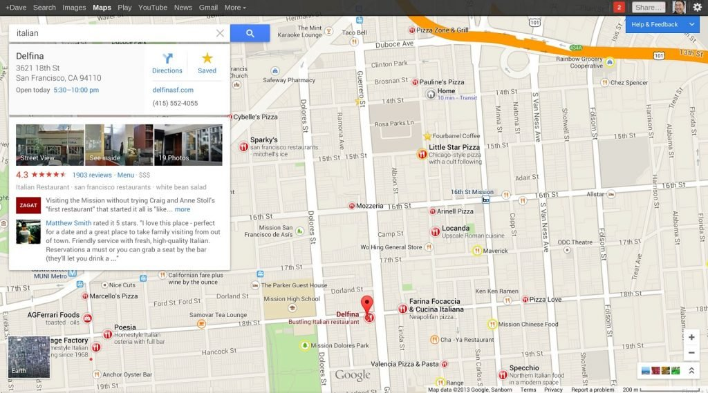 Как работает позиционирование в Google Maps?